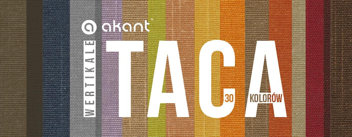 30 colours of  Itaka vertical blinds