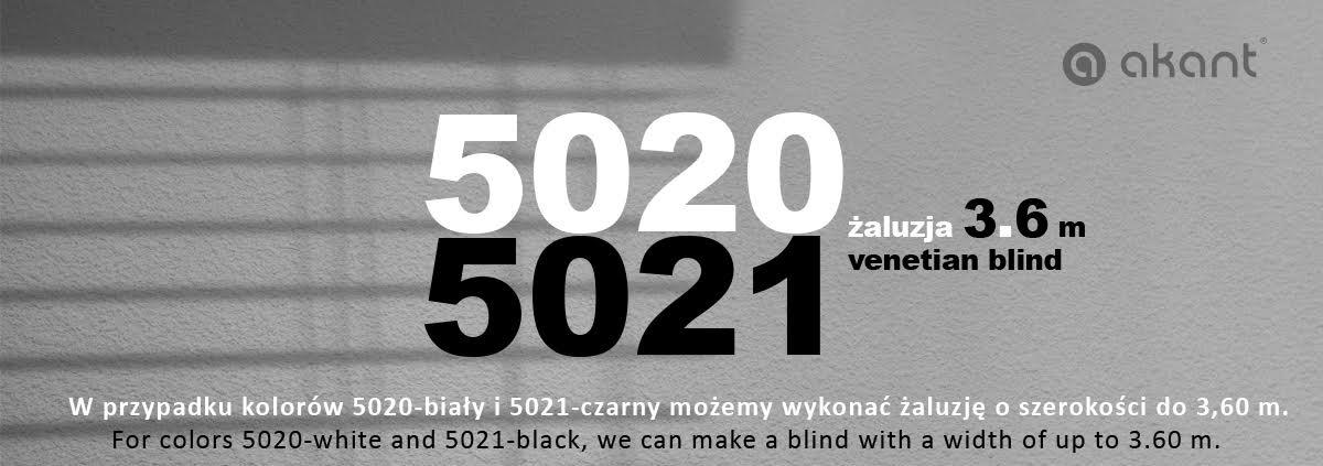 Venetian blind 3.6m