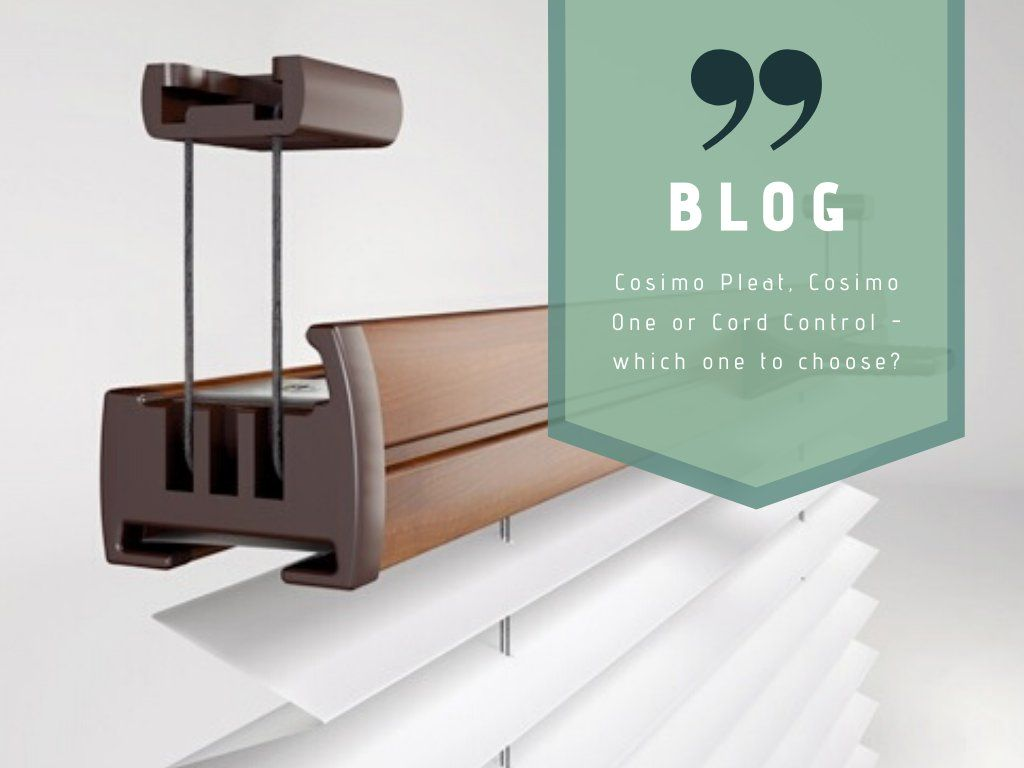 Cosimo Pleat, Cosimo One or Cord Control – which one to choose?