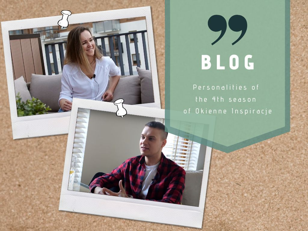 Personalities of the 4th season of Okienne Inspiracje