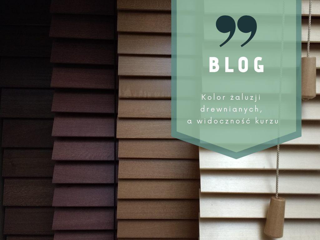 Kolor żaluzji drewnianych, a widoczność kurzu